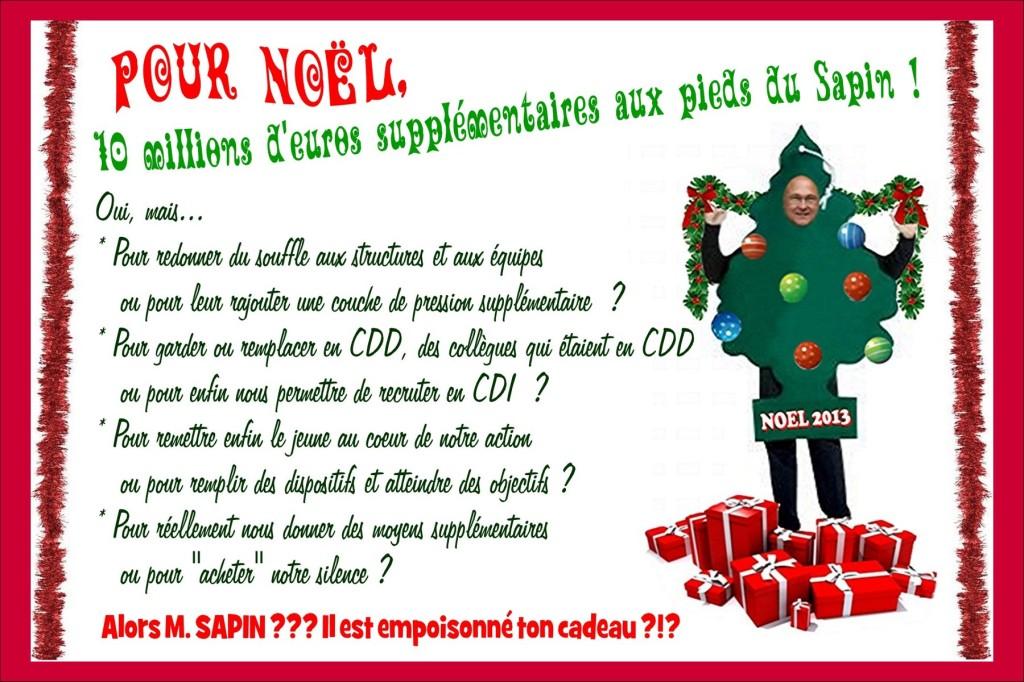 Carte Sapin Noël